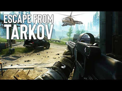 Escape From Tarkov – Defeat The Tarkov Private Military Company And Escape!!
